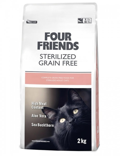 Four Friends Sterilised Cat 2kg