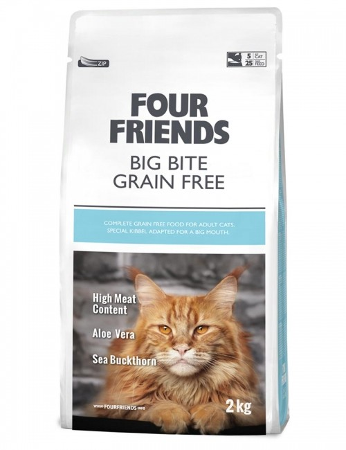 Four Friends Big Bite Cat 300g