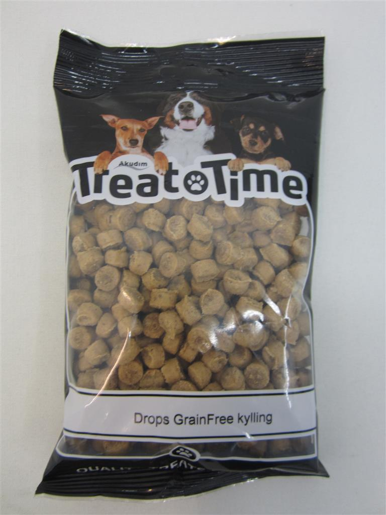 Treat Time Drops Grainfree Kylling 200g