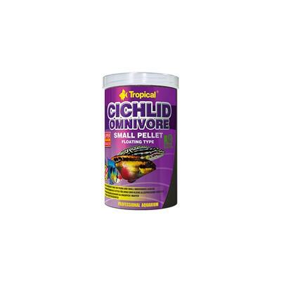 Tropical Cichlid Omnivore Medium Pellet 1000ml