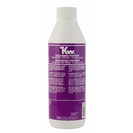 Kw Groomingpulver med silikon 350g (tørrvask)