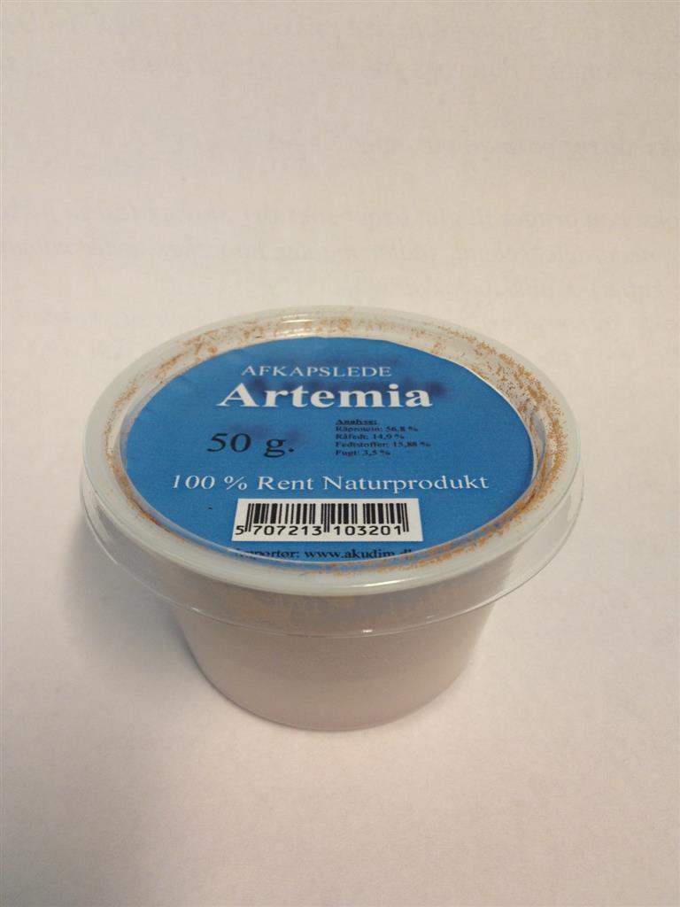 Avskallet Artemia 50g