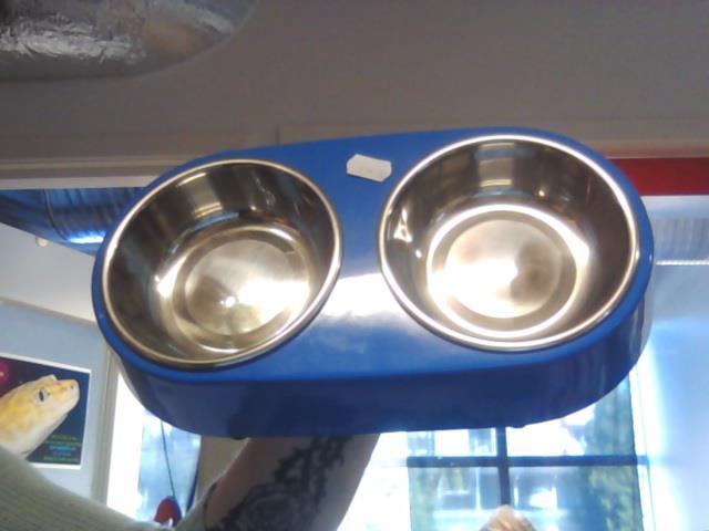 Duo matbar Mini Blå