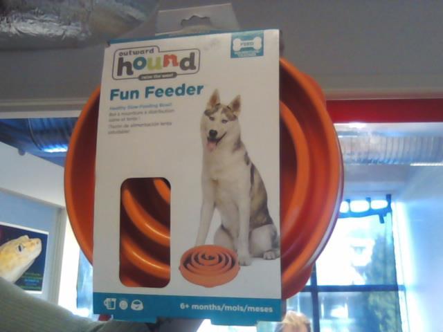 Outward Hound Fun Feeder Oransje L