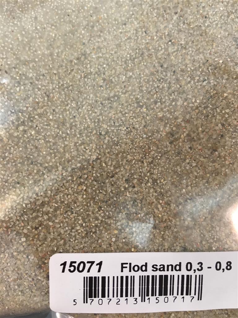 Flodsand 0,3-0,8mm 10kg