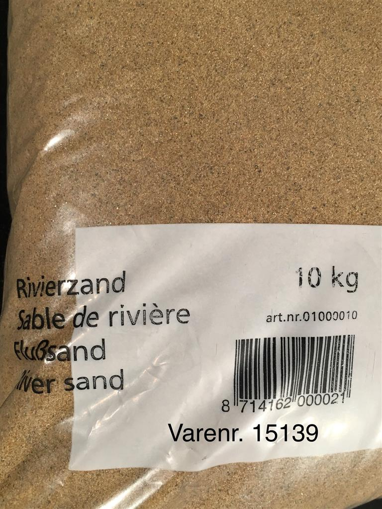 Akvariesand Riverbed 10kg