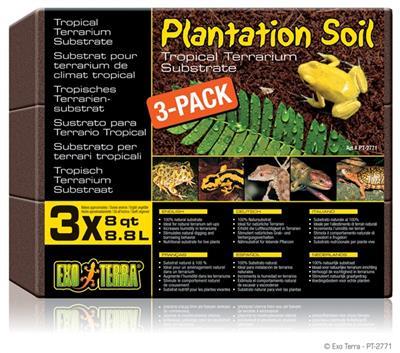 ExoTerra Plantation Soil 3x650g