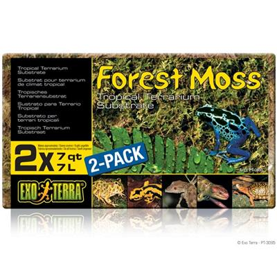 ExoTerra Forest Moss 2x7L