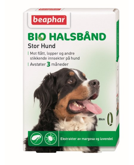 Beaphar Bio Halsbånd 80cm