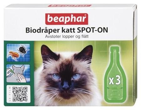 Beaphar Bio Dråper Katt