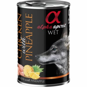 Alpha Spirit Patè Chicken&Pineapple 400g