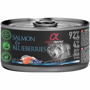Alpha Spirit Patè Salmon&Blueberries 150g