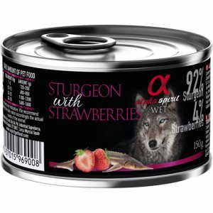 Alpha Spirit Patè Sturgeon&Strawberries 150g