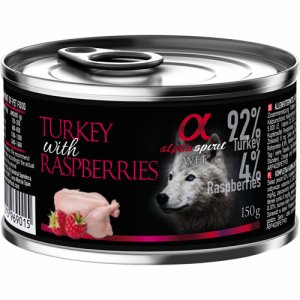 Alpha Spirit Patè Turkey&Raspberries 150g