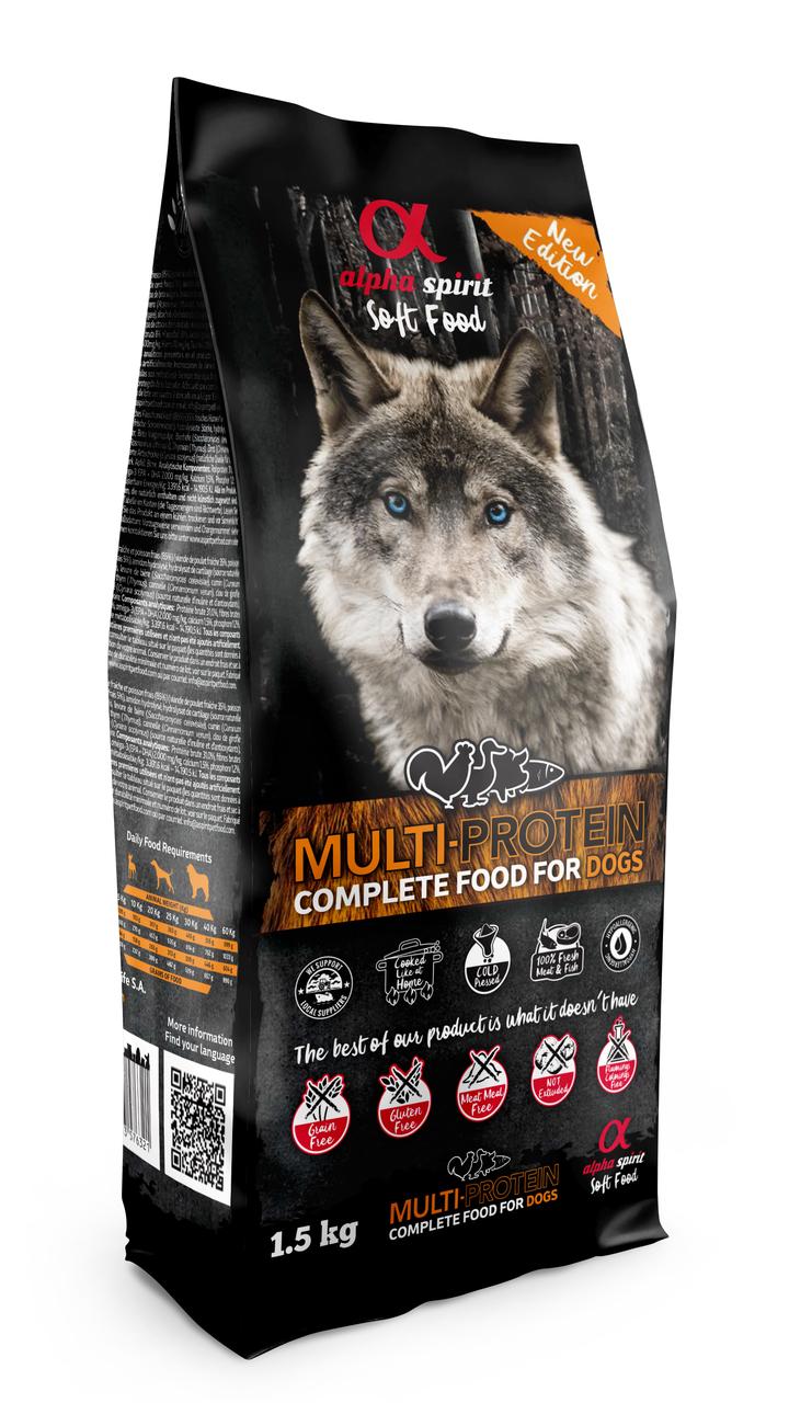 Alpha Spirit Multi Komplet Hundefôr 1,5kg