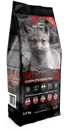 Alpha Spirit Puppy Komplett Hundefôr 1,5kg