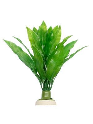 Plastplante Echinodorus bleheri, 30cm