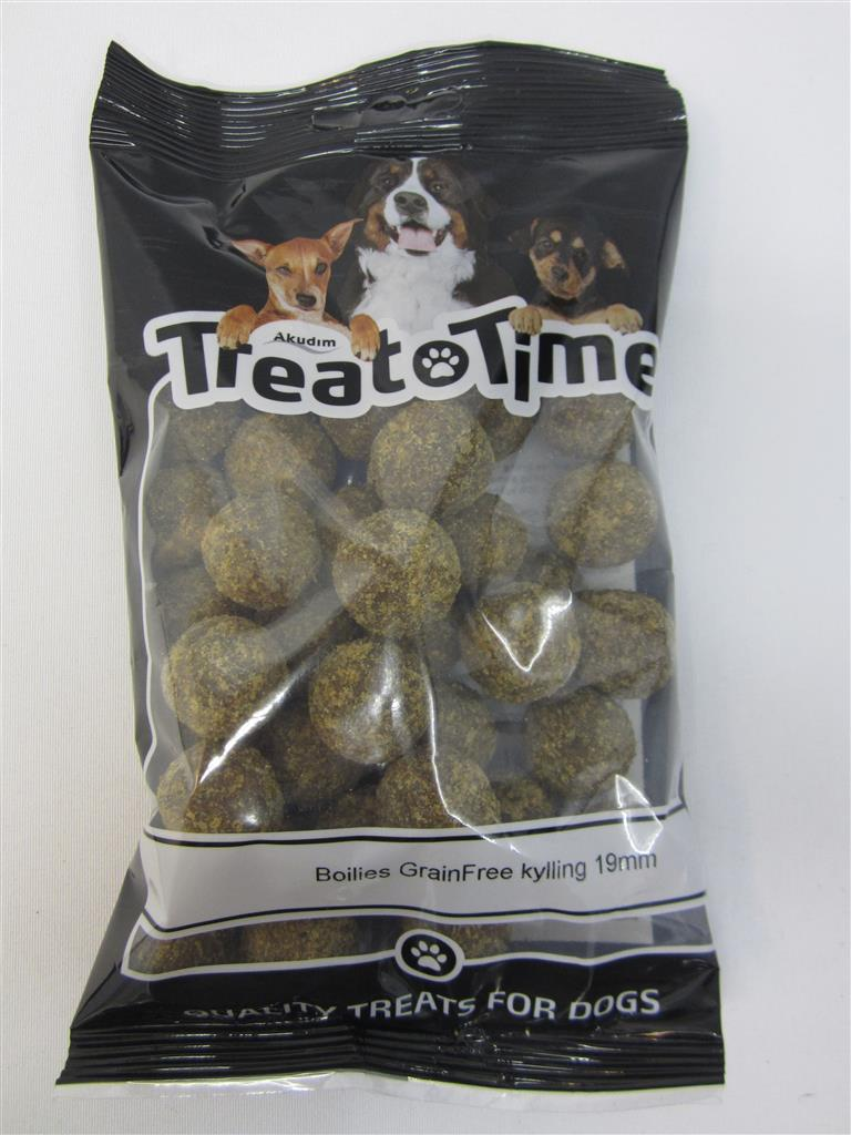 Treat time Boilies Grainfree Kylling
