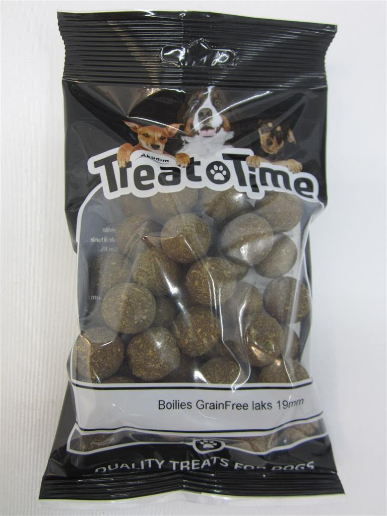 Treat time Boilies Grainfree Laks