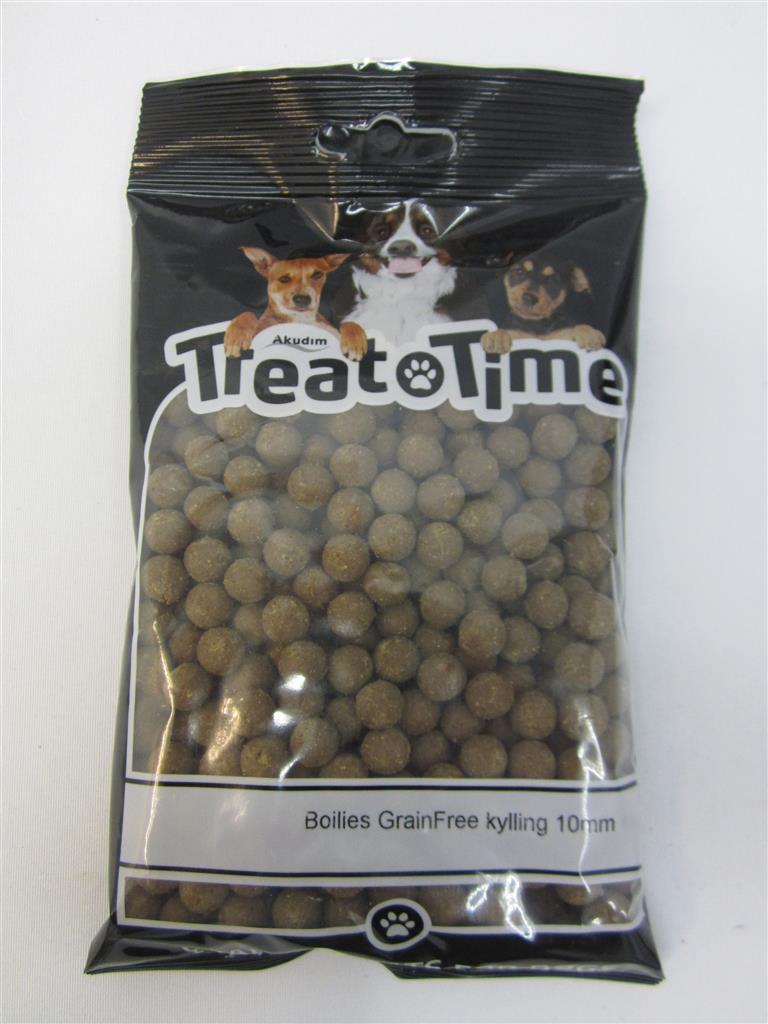 Treat time Mini Boilies Grainfree Kylling