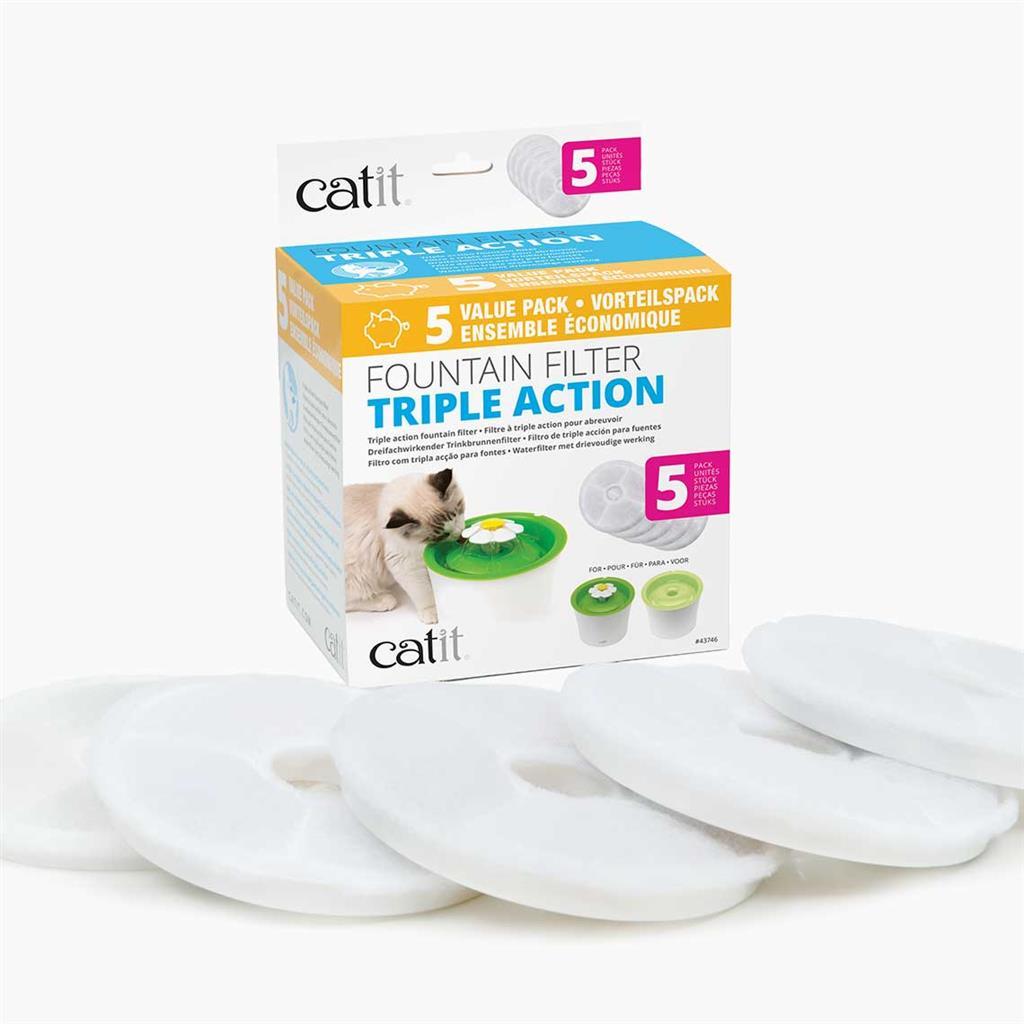 CatIt Senses 2.0 Filter T/Flowerfountain 5pk
