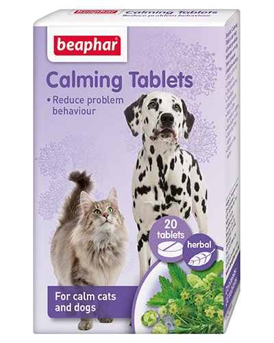Beaphar Calming Tablett for hund og katt.