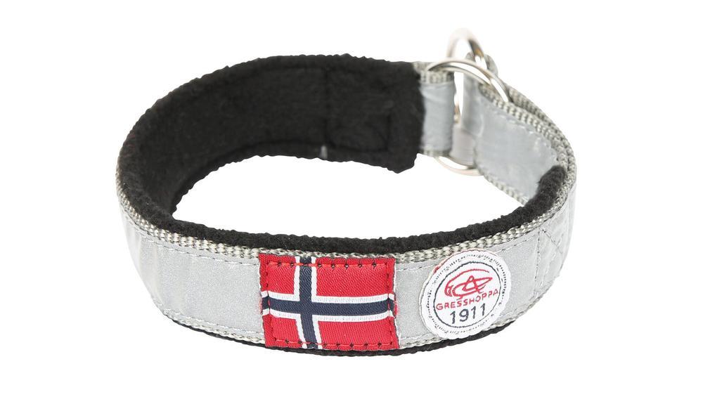 Gresshoppa Nordmarka Black Halsbånd 30cm