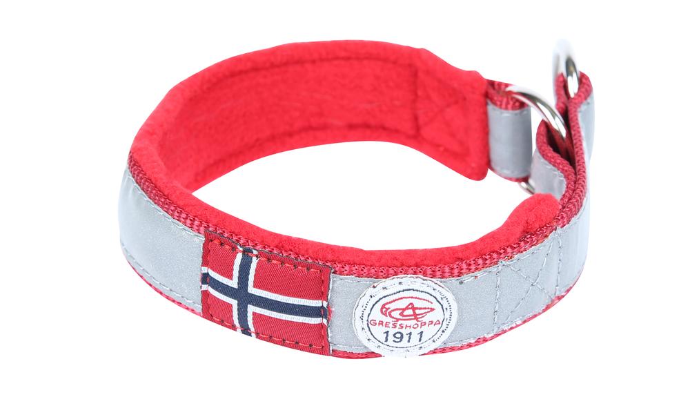 Gresshoppa Nordmarka Red Halsbånd 35cm