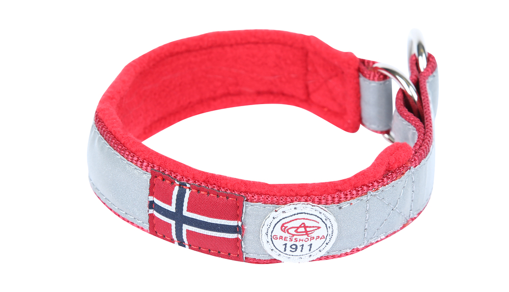 Gresshoppa Nordmarka Red Halsbånd 50cm