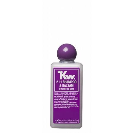 KW 2 i 1 (Bad & Føn) shampo 200ml