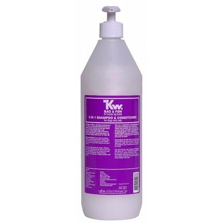 KW 2 i 1 (Bad og Føn) Shampo 1000 ml