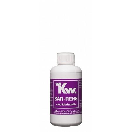 KW Sår-rens m. klorhexidin 100 ml.