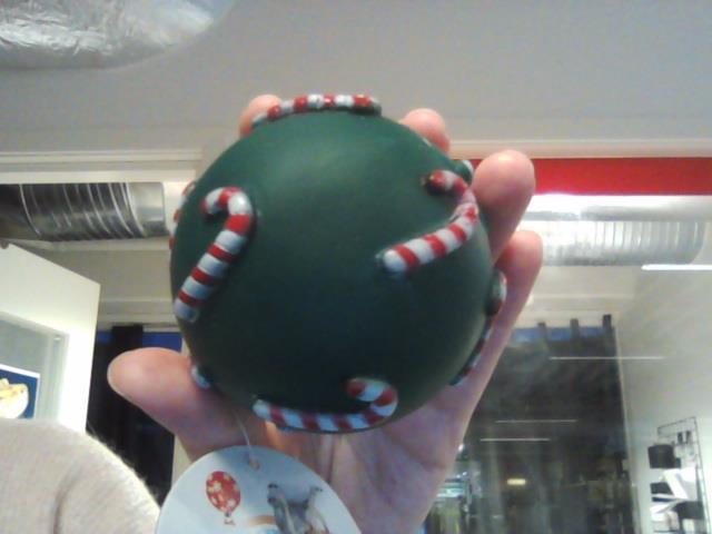 Julekuler med polkagris