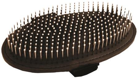 KW Smart Bløt oval piggbørste med tupper