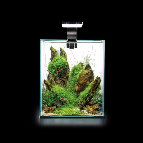 Aquael Shrimpset Smart 2 Day & Night, 19L Hvit