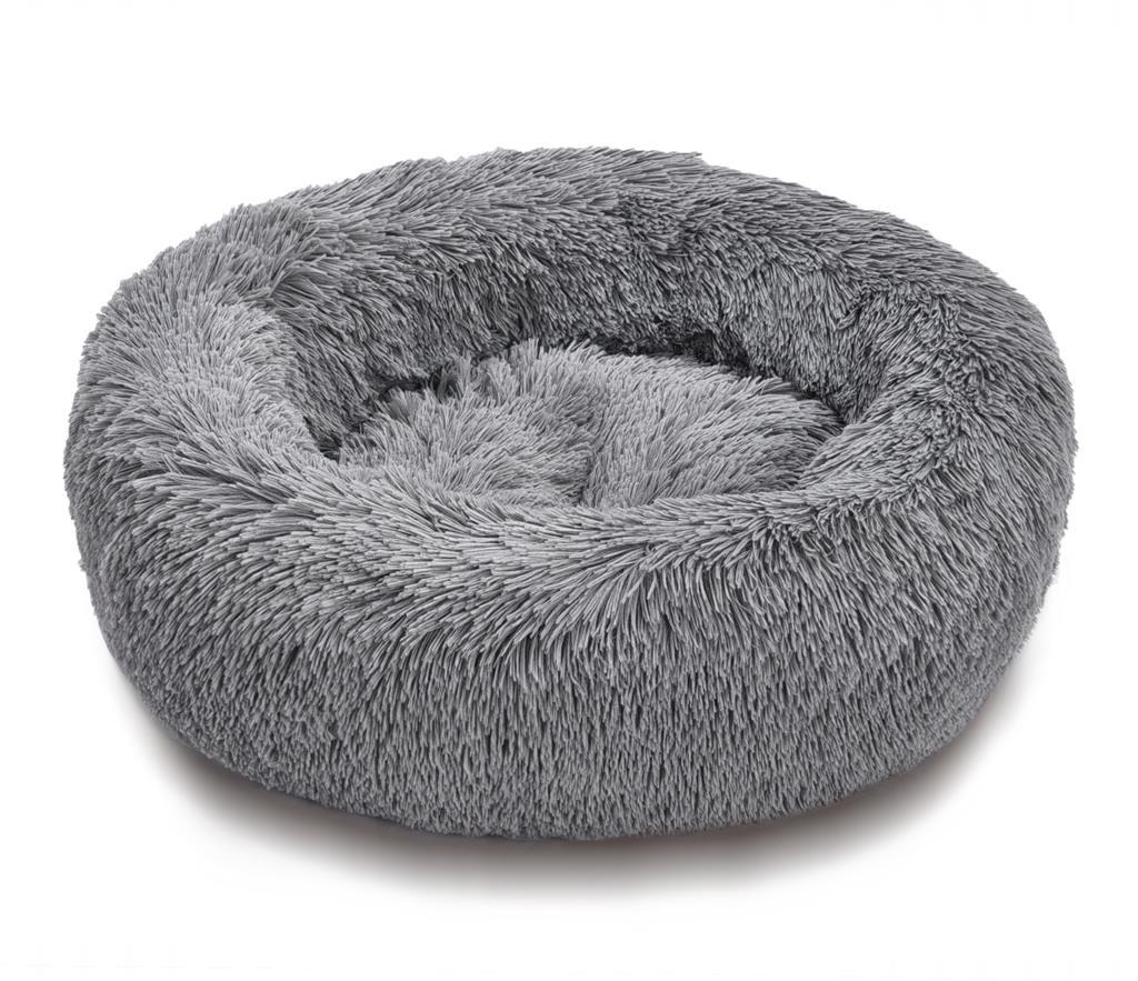Pet Time Anti-stress seng Ø100x17cm Grå