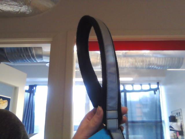 Yukon Halvstrup Fleece/Reflex Sort 65cm