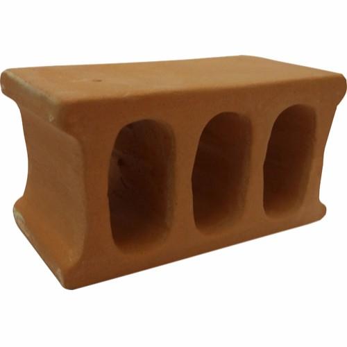 Reke/Mallehule Brun Keramikk 11,5x5,7x6,3cm