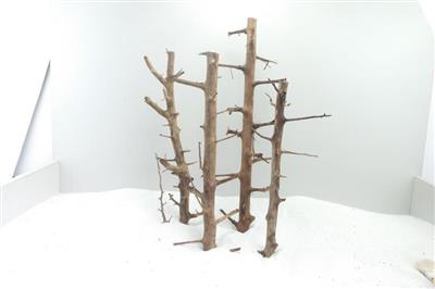 Long Hands Wood 40-49x2-5cm