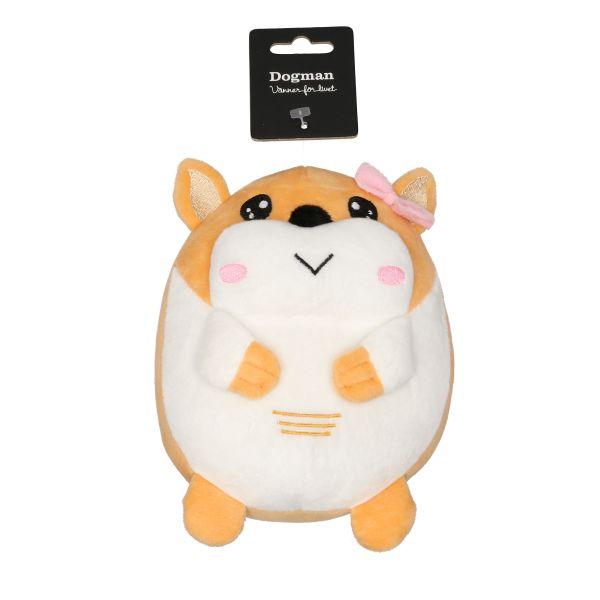 Leke Hamster Beige M 18cm