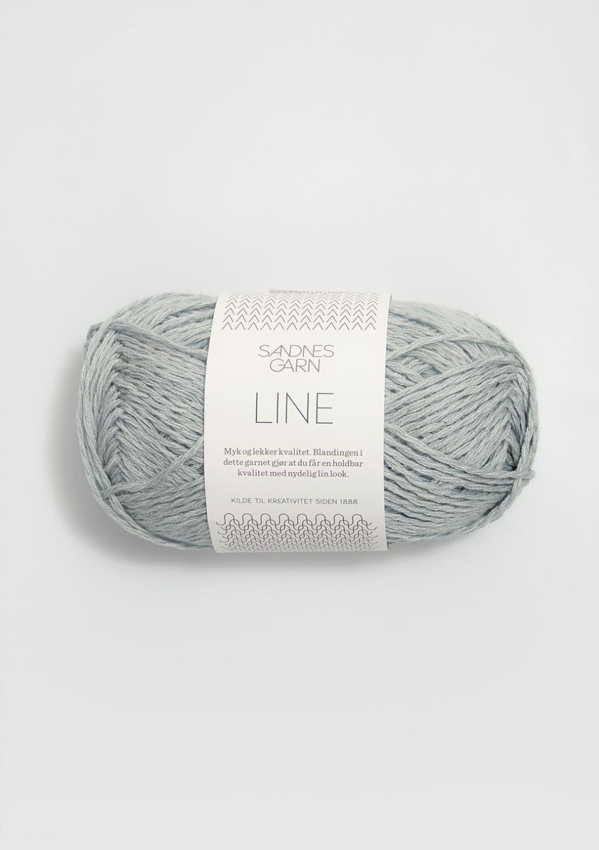 LINE Støvet Lys Blå 7521