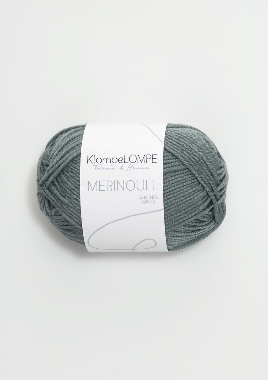 KLOMPELOMPE MERINOULL Blåpetrol 7251