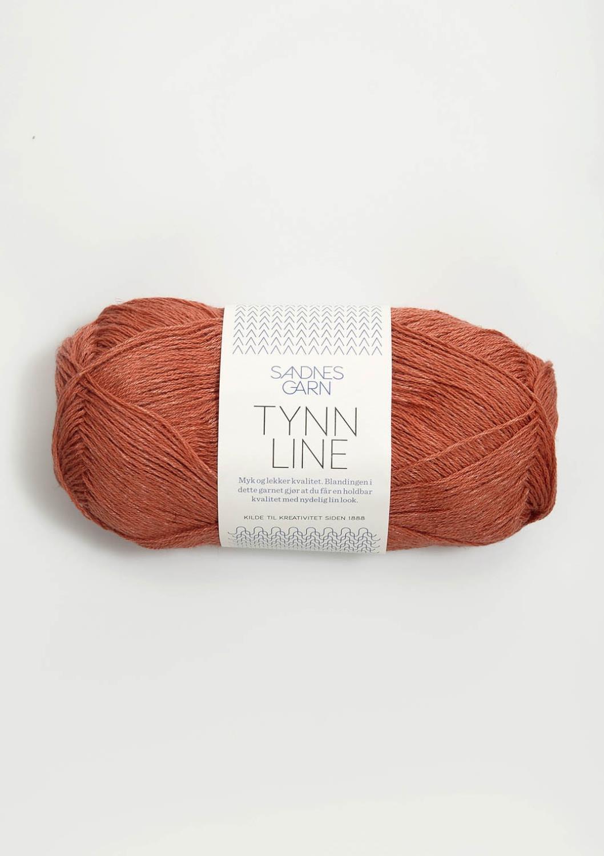Tynn Line terrakotta 4234