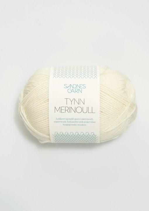 TYNN MERINOULL HVIT