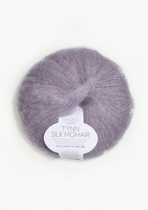 Tynn Silk Mohair, Støvet syrin 4631