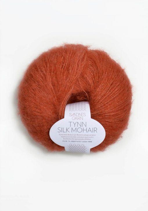 Tynn Silk Mohair, terrakotta 3835