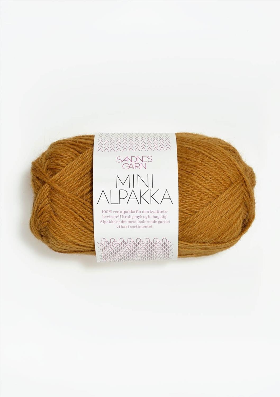 Mini Alpakka, Sennepsgul, 2335