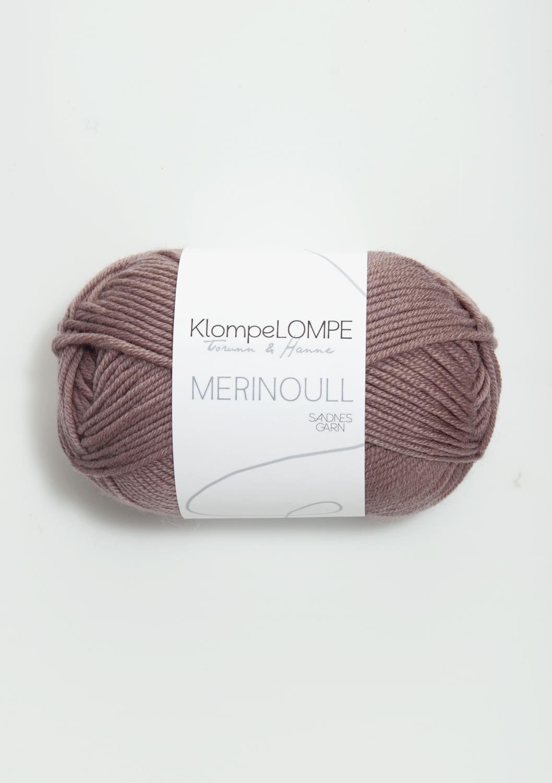 Tynn Merinoull, klompelompe, dus lilla 4331