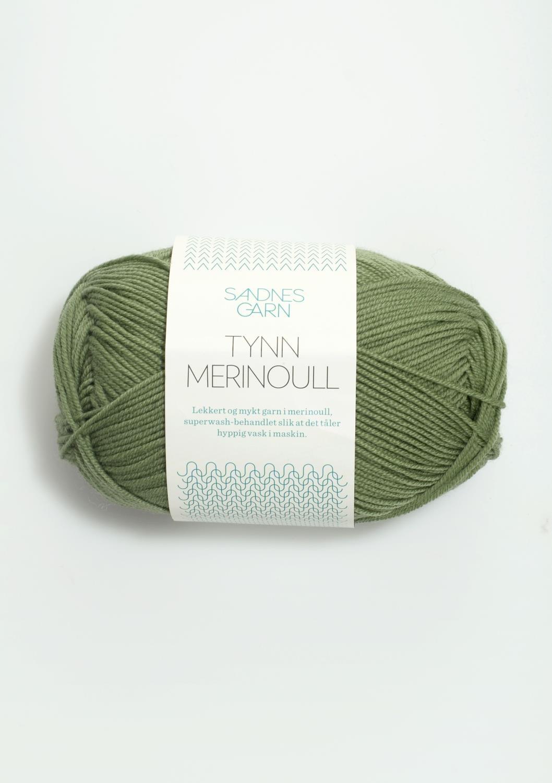 TYNN MERINO grønn 8543