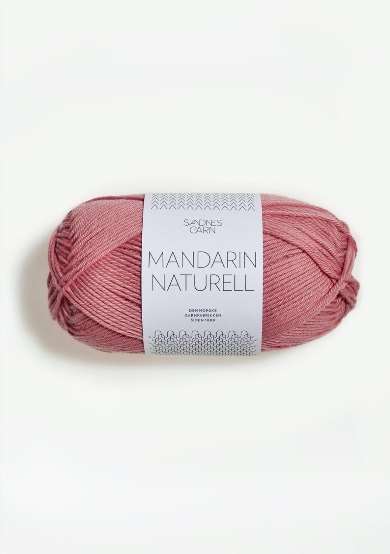 MANDARIN NATURELL, rosa 4323